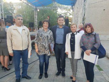 Народните представители от ГЕРБ поздравиха жителите на Тетово по повод празника на населеното място