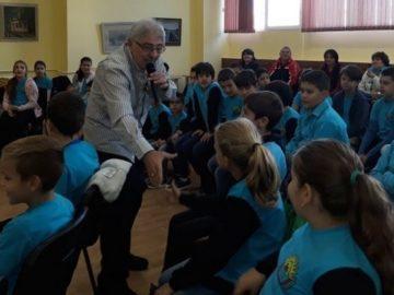 """Открит урок по музика с Хайгашод Агасян имаха днес в ОУ """"Отец Паисий"""""""