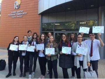 """Ученици от АЕГ """"Гео Милев"""" - Русе участваха в състезание """"PRO BONO професионалисти в училище"""""""