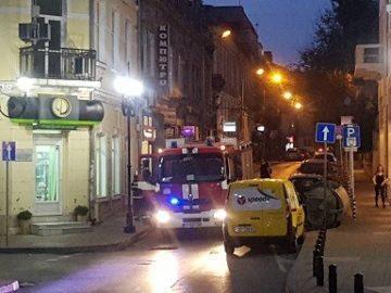 """Пожарникари реагираха на сигнал за запалване на ул. """"Христо Г. Данов"""""""