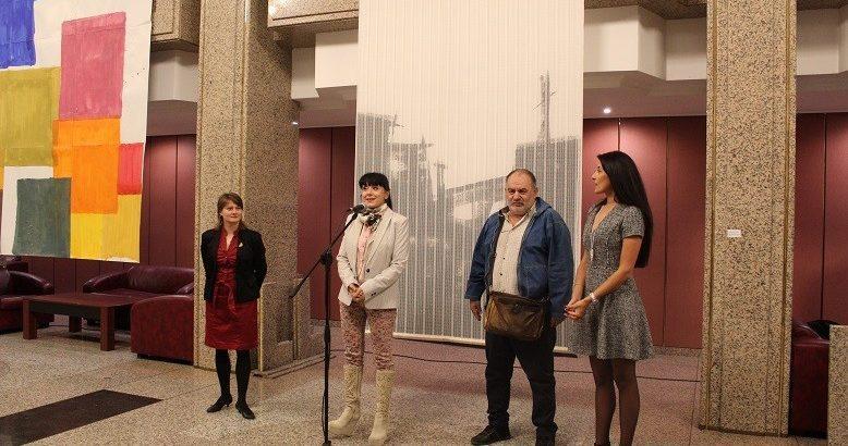 """В Доходното здание бе открита изложбата """"За копнежа и природата"""""""