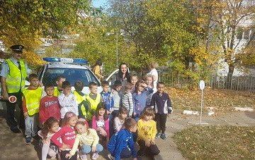 """Празник по безопасно движение """"Приятели на пътя"""" се проведе в детска градина """"Снежанка"""""""