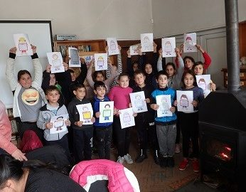 Деца от Ценово се включиха в националната седмица на четенето