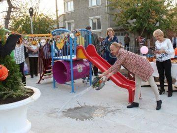 Нова зона за отдих и игри бе открита днес в село Николово