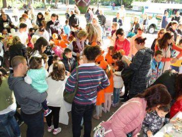 """Над 100 деца и техните родители участваха в съботния детски празник под наслов """"Дунав – моята река"""""""