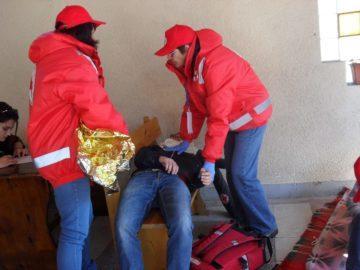 Русенският отбор първи на националното състезание на БЧК за бедствена готовност