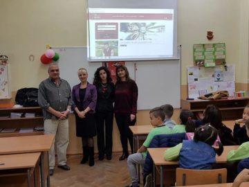"""НАП даде началото на образователния си проект """"Влез в час с данъците"""" - ОУ """"Иван Вазов"""""""