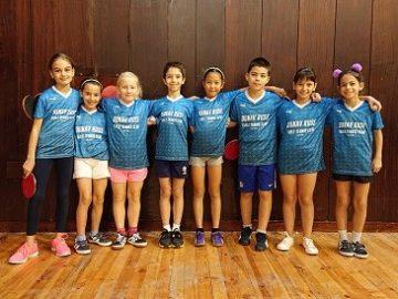 Най-малките русенски тенисисти взеха участие в първото си състезание за годината