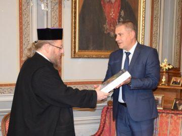 Русенският митрополит Наум се срещна с областния управител на Силистра