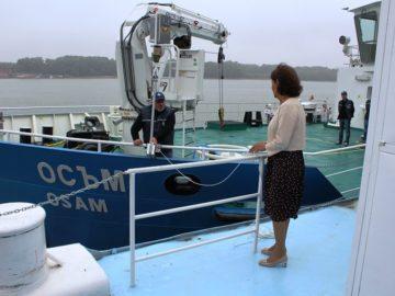 Галина Василева е кръстницата на новия маркиращ кораб на ИА ППД - Русе