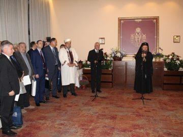 Областният управител, кметът на Община Русе и много гости поздравиха митрополит Наум по повод юбилей му