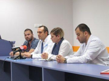 """Нова лазерна апаратура от последно поколение за премахване на камъни в бъбреците работи от седмица в УМБАЛ """"Канев"""""""