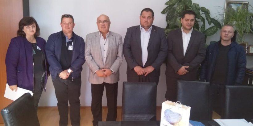 Проведе се работна среща между русенския мюфтия и кмета на Община Сливо поле