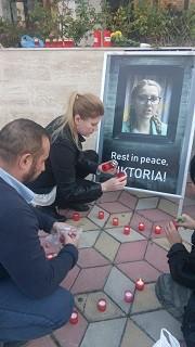 Румънски журналисти изразяват своята съпричастност към смъртта на Виктория Маринова в Гюргево
