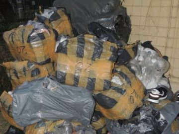 Фалшиви облекла за близо 40 000 лева задържаха в района на Дунав мост 1
