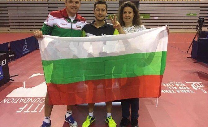 Денислав Коджабашев е световен вицешампион по тенис на маса