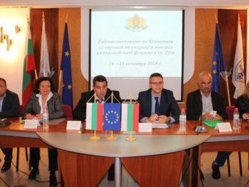 Актуални въпроси на реализираните в Русенска област проекти обсъждаха днес
