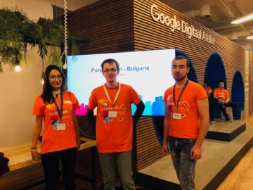 Русенски студентски отбор участва в Европейската седмица на кодирането