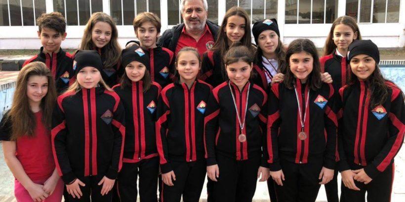 Четвърто място за момичетата на КПС Локомотив от държавното в Пловдив