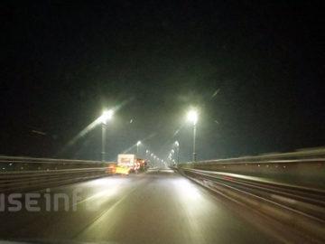 дунав мост осветление