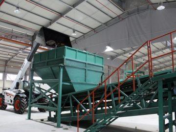 Днес новата инсталация за сепариране на отпадъци в Русе започна да функционира