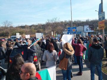 протест дунав мост чист въздух