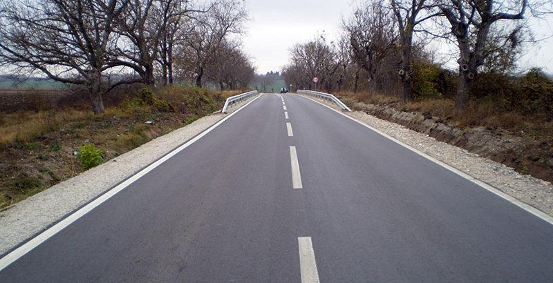 Завърши цялостният ремонт на пътя от граница област Русе - Опака - Попово