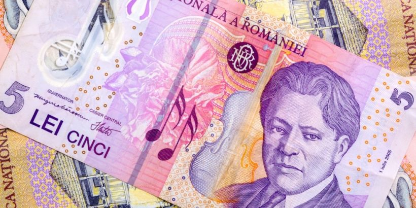румънски леи пари румъния