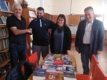 Дарения от книги получиха библиотеките в Долна Студена и Караманово