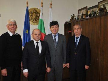 Посланикът на Казахстан у нас посети Русе