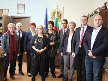 Кметът на Община Русе посрещна делегация Баден-Вюртемберг