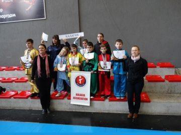 """""""Калагия"""" спечели 17 медала от държавното първенство по у - шу"""