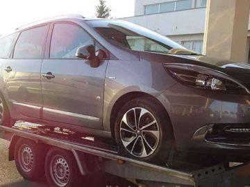 Обявен за издирване в Белгия автомобил е задържан на Дунав мост 1
