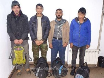 Четирима нелегални мигранти откриха в камион на Дунав мост 1