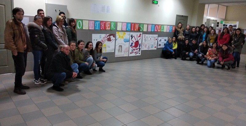 Клубът на социалния работник отбеляза Международния ден за елиминиране на насилието срещу жени