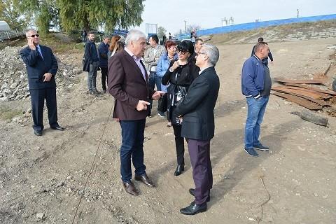 Зам. - кметът Димитър Наков посети Гюргево за началото на голям трансграничен проект