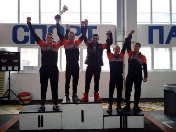 """ТСК """"Русе"""" с пет купи от държавното отборно първенство по вдигане на тежести"""