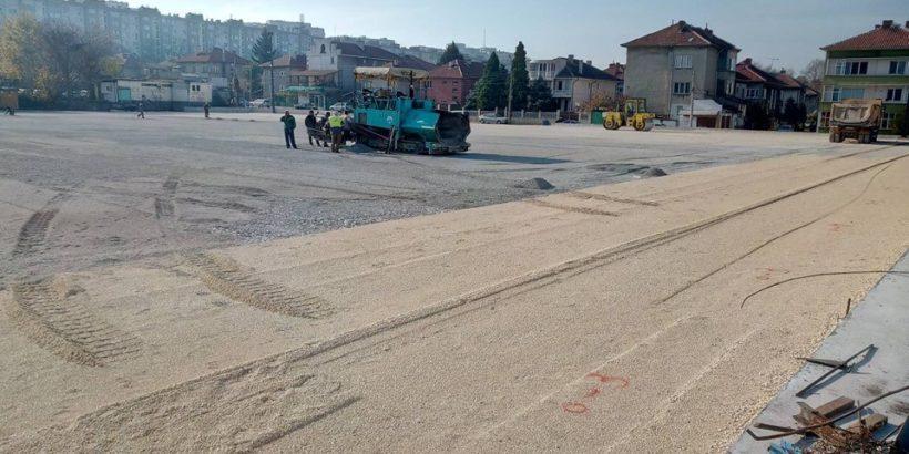 """Изкуственото покритие на игрищата до стадион """"Дунав"""" е от голям турски производител"""
