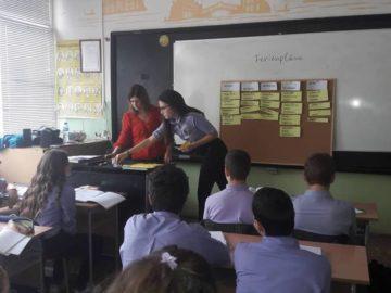 Иновативен урок по немски език се проведе в СУПНЕ - Русе
