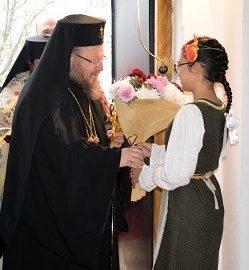 Русенският митрополит Наум посети село Медовина