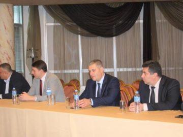 Галин Григоров участва в работна среща на областните управители в Стара Загора