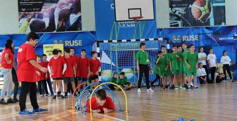 """В СК """"Ялта"""" се проведе ученическо състезание под надслов """"Спортът е по-добрият начин децата да пораснат"""""""