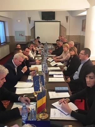 Окръжен съвет Гюргево беше домакин на провелото се последно за годината заседание на Съвместната българо-румънска земеделска работна група