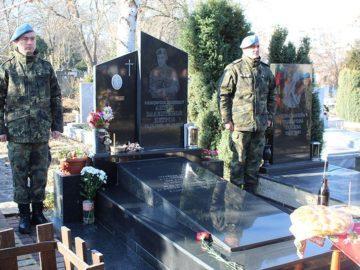 Възпоменателна церемония във връзка с 15-та годишнина от атентата срещу българската база в Кербала 3