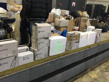 Екзотични риби, птици и голямо количество алкохол без български бандерол са заловени на ГКПП-Дунав мост при Русе