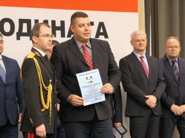 Инспектор Добрин Харалампиев от ОДМВР Русе с първа индивидуална награда Полицай на годината