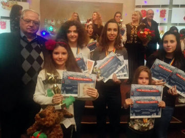 Осем първи награди и два трофея за талантите от вокално студио за поп и джаз Икономов