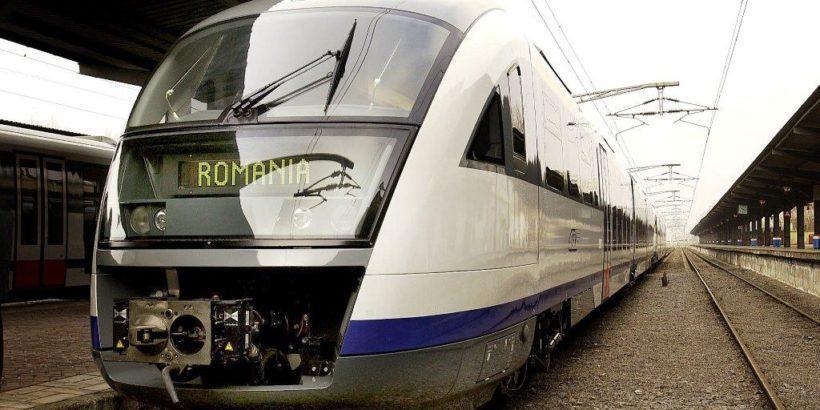 влак румъния гара отопени букурещ