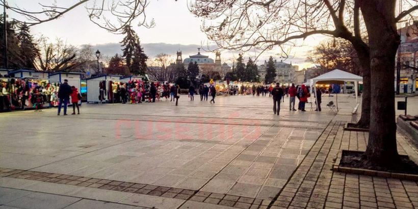 коледен пазар русе площад нова година