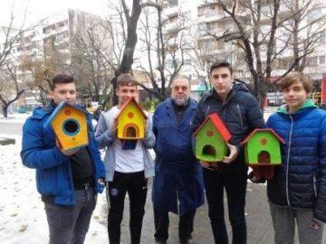 """На Никулден бе даден старт на коледните инициативи в ПГДВА """"Йосиф Вондрак"""" – Русе"""